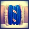 Silk Thread Bangle Designs