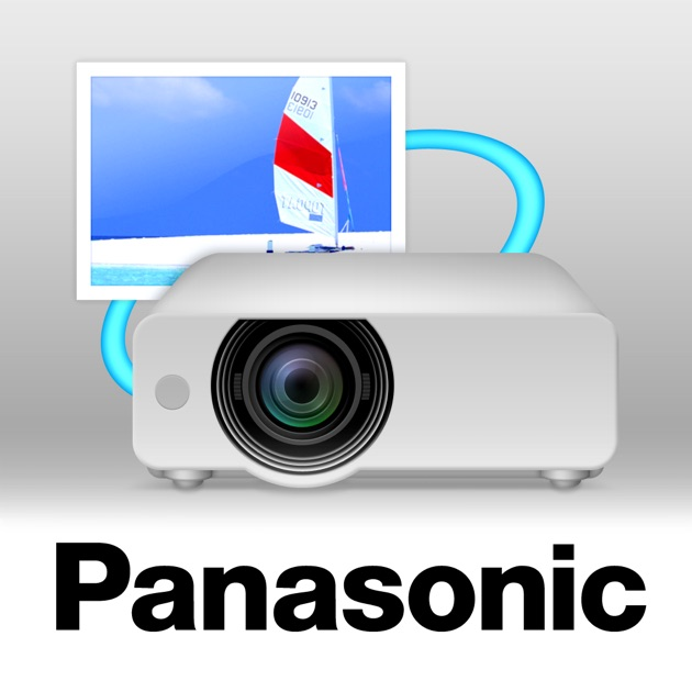 Panasonic wireless projector on the app store for Apple projector