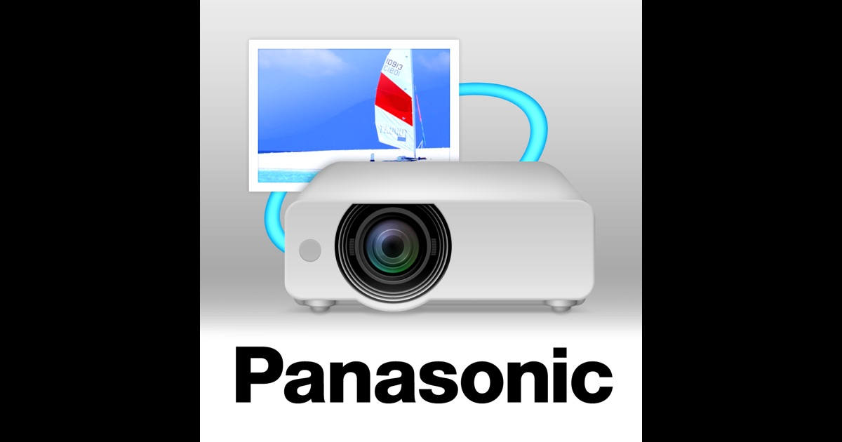 Panasonic wireless projector on the app store for Apple store projector