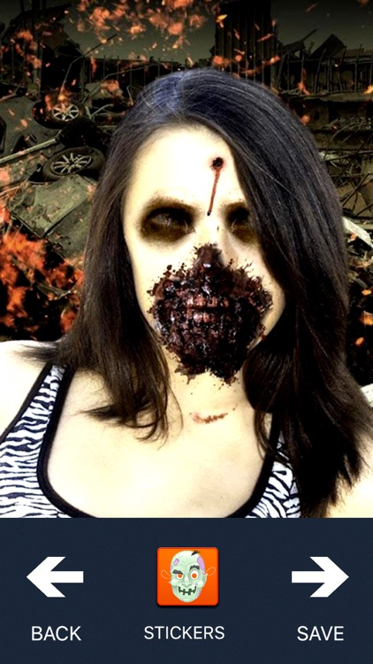 Scary zombie face photo maker turn yourself into a real ugly scary zombie face photo maker turn yourself into a real ugly creature solutioingenieria Images