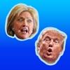 ElectionMoji - Donald Trump and Hillary Clinton Emoji Keyboard