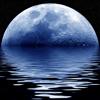 Lunar del reloj del calendario de la fase lunar