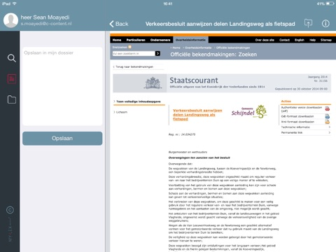 MY-LEX Overheid screenshot 3