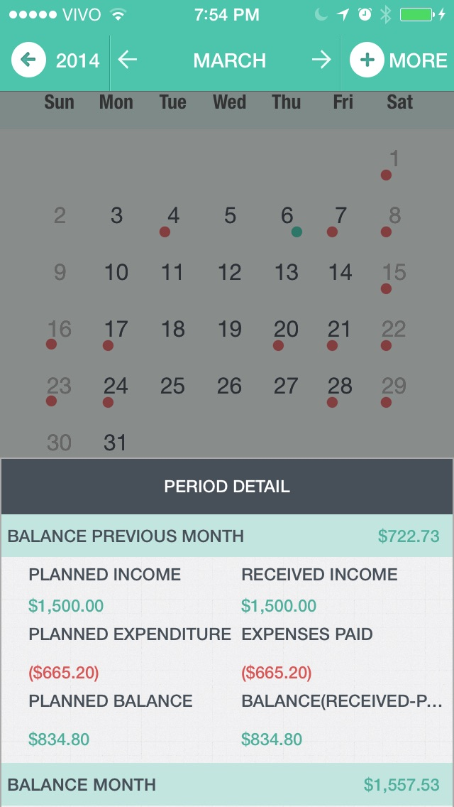 MyFin - Personal Finance Screenshots
