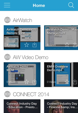 Download AirWatch Video app for iPhone and iPad