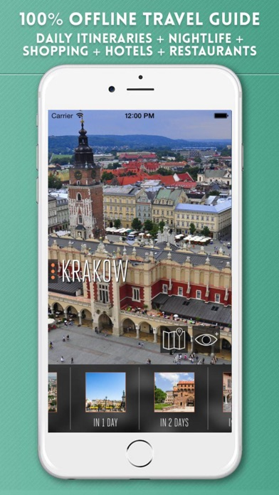 Krakow Travel Guide with Offline City Street Map on the App Store