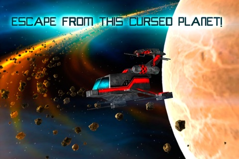 Mars Survival 3D: Cosmic Crash Full screenshot 4