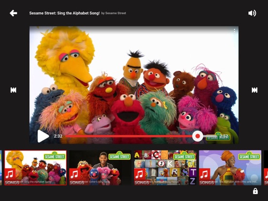 YouTube Kids iPad