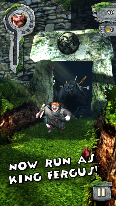 Screenshot #8 for Temple Run: Brave