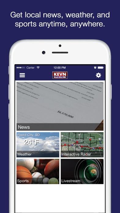 KEVN Black Hills FOX NewsScreenshot of 1