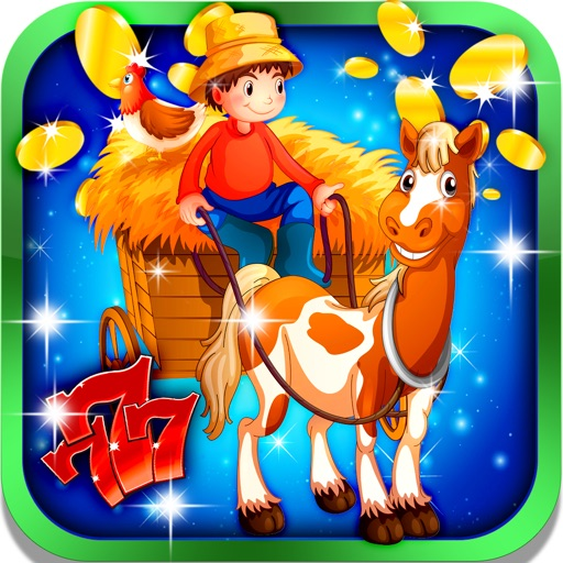 Farmhouse Slot Machine: Gain rural treasures iOS App