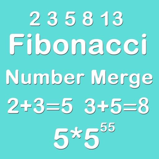 Number Merge Fibonacci 5X5 - Merging Number Block iOS App