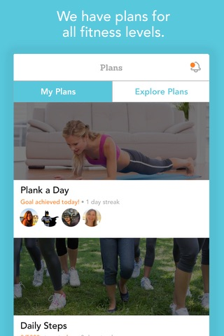 EveryMove Fit: Fitness Plans, Goals & Challenges screenshot 3