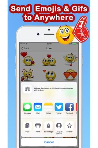 Emoticons Keyboard Pro - Adult Emoji for Texting screenshot 3