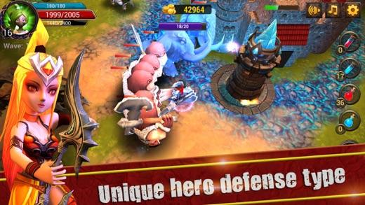 XHero Defend Screenshot