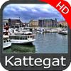 Marine : Kattegat HD - GPS Map Navigator