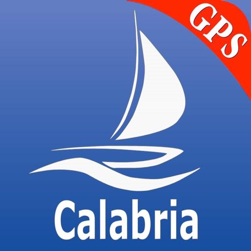 Calabria GPS Carta Nautica
