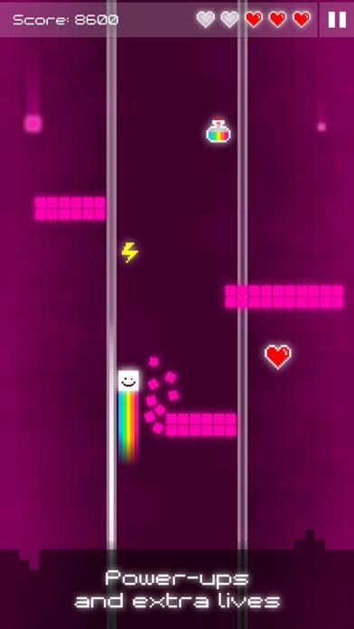 Tile Surfer - Pixel Art Arcade Game (No Ads) screenshot three