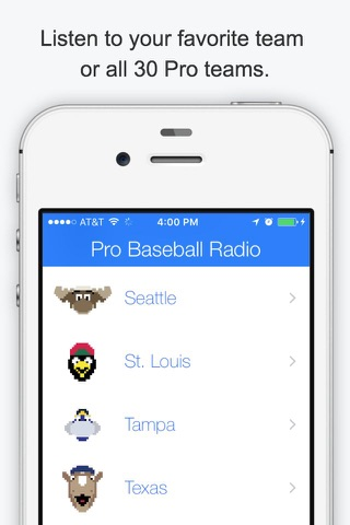 GameDay Pro Baseball Radio - Live Playoff Games, Scores, Highlights, News, Stats, and Schedules screenshot 1