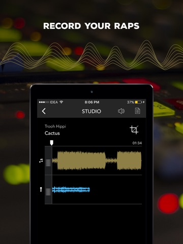 Rapchat: Rap Maker & Studio screenshot 2
