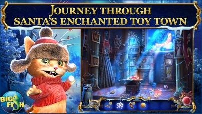 Christmas Stories: Puss in Boots - A Magical Hidden Object Game (Full) screenshot 1