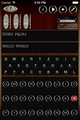 Mininigma: Enigma Simulator screenshot 1