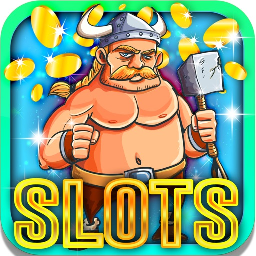 Lucky Viking Slots: Earn promo vikings bonuses iOS App