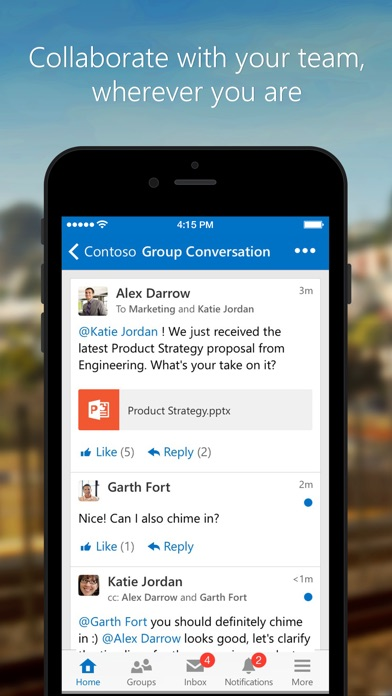 download Yammer apps 4