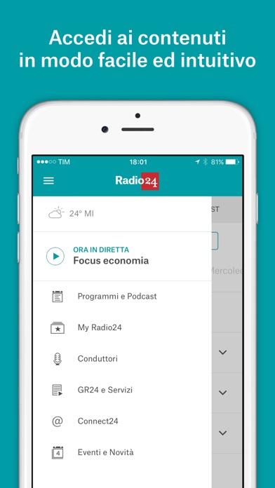 Screenshot of Radio 245