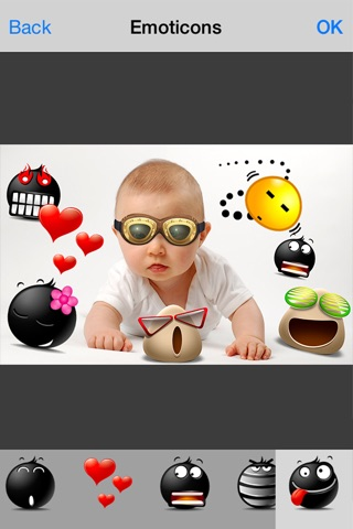 Cool Pic Camera - Emoji Photo Editor Frames User screenshot 2