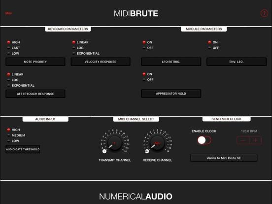 MIDIBrute Screenshot
