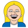 Emoji Stickers for Hillary Clinton hillary clinton bill kiss