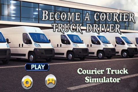 Courier Truck Simulator – Real cargo delivery & trucker driving game screenshot 1