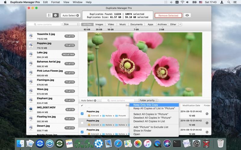 Duplicate Manager Pro Screenshots