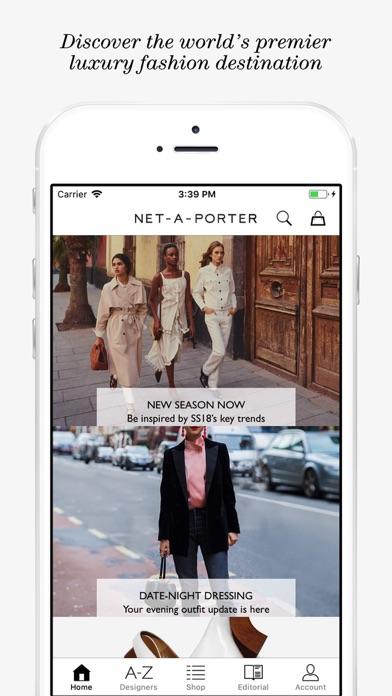 NET-A-PORTER: Designer Fashion Скриншоты3