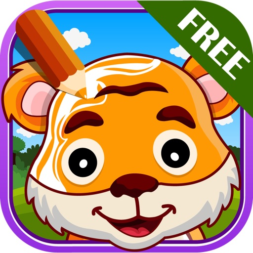 Color Me Wild - Coloring For Children iOS App