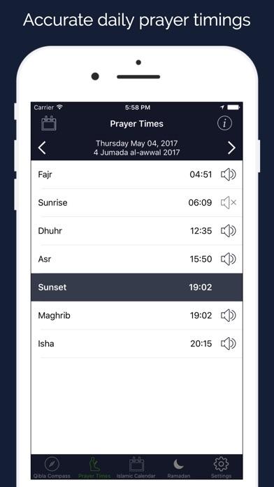 Screenshot of Ramadan 2018 Assistente2
