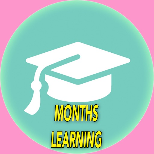 Toddlers Month Of The Year learning with Flashcards and sounds iOS App