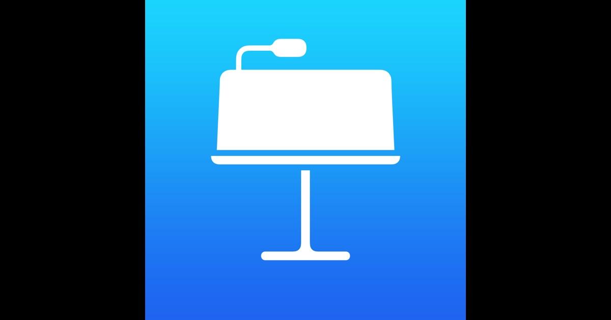 keynote application for mac