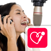 Red Karaoke Sing & Record. Sing with 70,000 free karaoke & share your videos icon