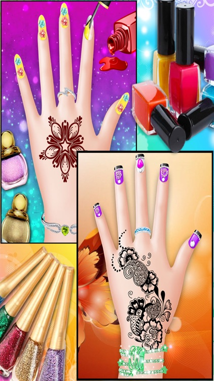 Mehndi Design Hand Art And Beauty Salon Games For Girls By Grishma