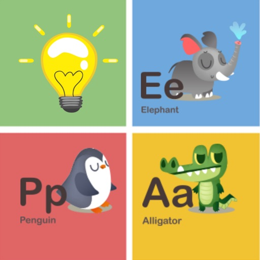 Memorize alphabet animals remembering game for kid iOS App