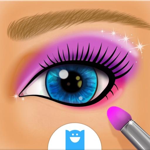 maquillage des yeux jeux de salon pour filles par pilcom. Black Bedroom Furniture Sets. Home Design Ideas