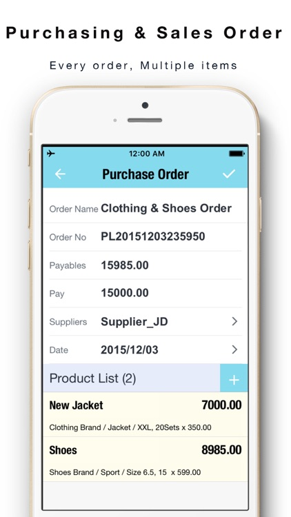Daily Sales Tracker 2 -Items storage,Stock tracker by yongwen hu