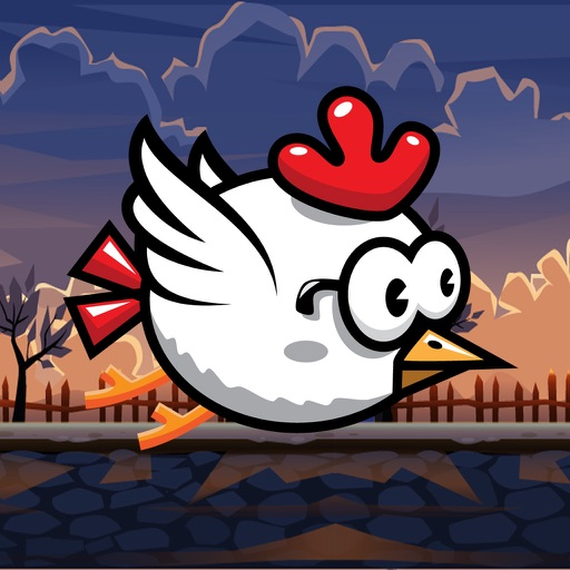 Tap Tap Chicken Flying Adventures iOS App
