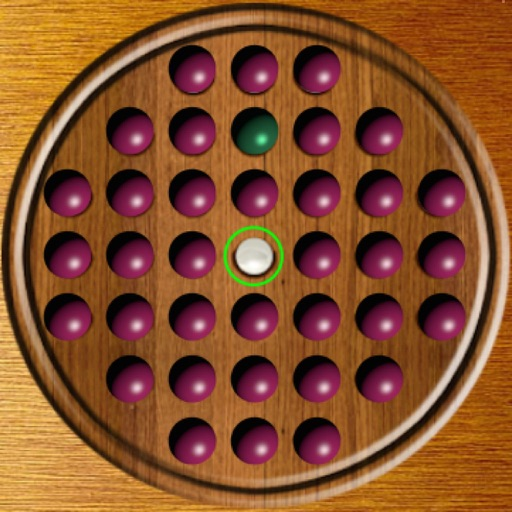 Marbles Solitaire Free iOS App