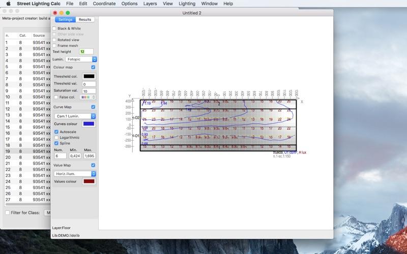 Screenshot 5. Street Lighting Calc & Street Lighting Calc on the Mac App Store azcodes.com
