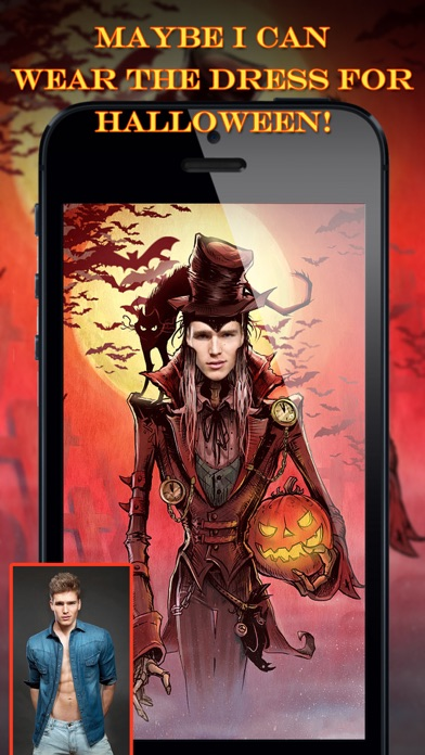 iphone screenshot 2 - Face In Hole Halloween