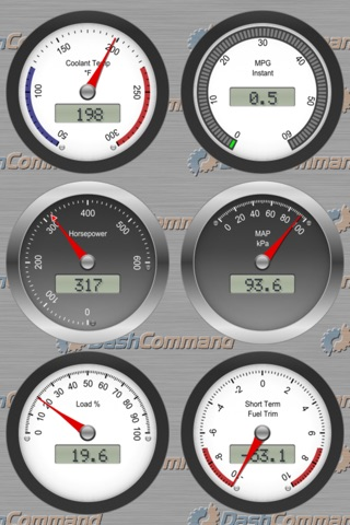 DashCommand - OBD-II gauge dashboards, scan tool screenshot 4