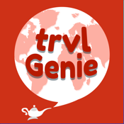 TrvlGenie - Travel Itinerary Planner & Blogger icon